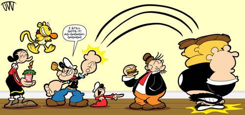 A Popeye Celebration by JoeyWaggoner