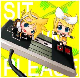 Sit Down Please: Remote Control by eto-tan