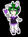 Pixel Cheeb::Kyoun Koko by KittyBizcuits