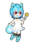 Pixel Cheeb::Aoba Hoshime by KittyBizcuits