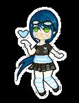 Pixel Cheeb::Yuma Umino by KittyBizcuits