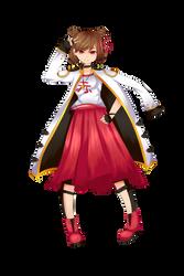 UTAU Official Art + NEWCOMER::Akane Katagiri by KittyBizcuits