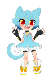 Comic UTAU Cheeb::Aoba Hoshime by KittyBizcuits