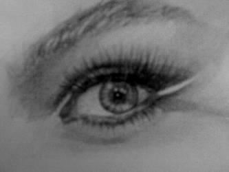 Beyonce's Eye by Yagmurengin