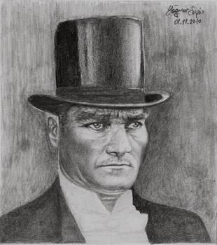 Mustafa Kemal ATATURK by Yagmurengin