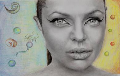Angelina Jolie by Yagmurengin