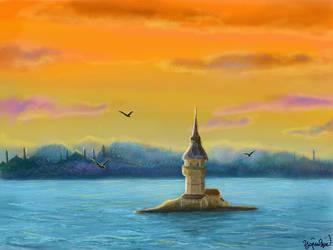 Istanbul, Konstantinopolis by Yagmurengin