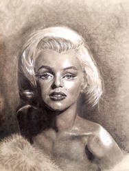 Marilyn Monroe Sketch by Yagmurengin