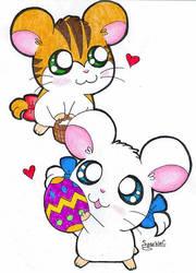 Easter Girls by SparkleC
