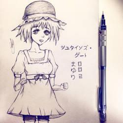 'Tuturuuuu!' - Lab Member 002, Mayuri Shiina by Fuzuhi
