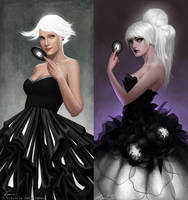 Blackfruit before - after by Viccolatte