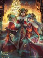 Legend of the Cryptids - Mistletoe Eve by Viccolatte