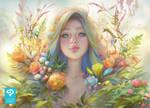 Clip Studio Paint - Portrait Commission by Viccolatte