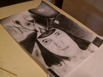 Self-portrait - Drawing assignment by Milyusia
