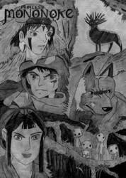 Princess Mononoke by korkydorch