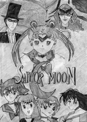Sailor Moon by korkydorch