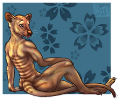 Thylacine -  Sit down and chill out [Practice] by drygani-art