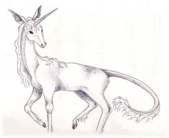 The Last Unicorn by Moundfreek