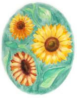 Sunflowers by Moundfreek