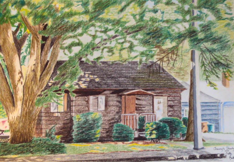 Granny's Shanty by Moundfreek