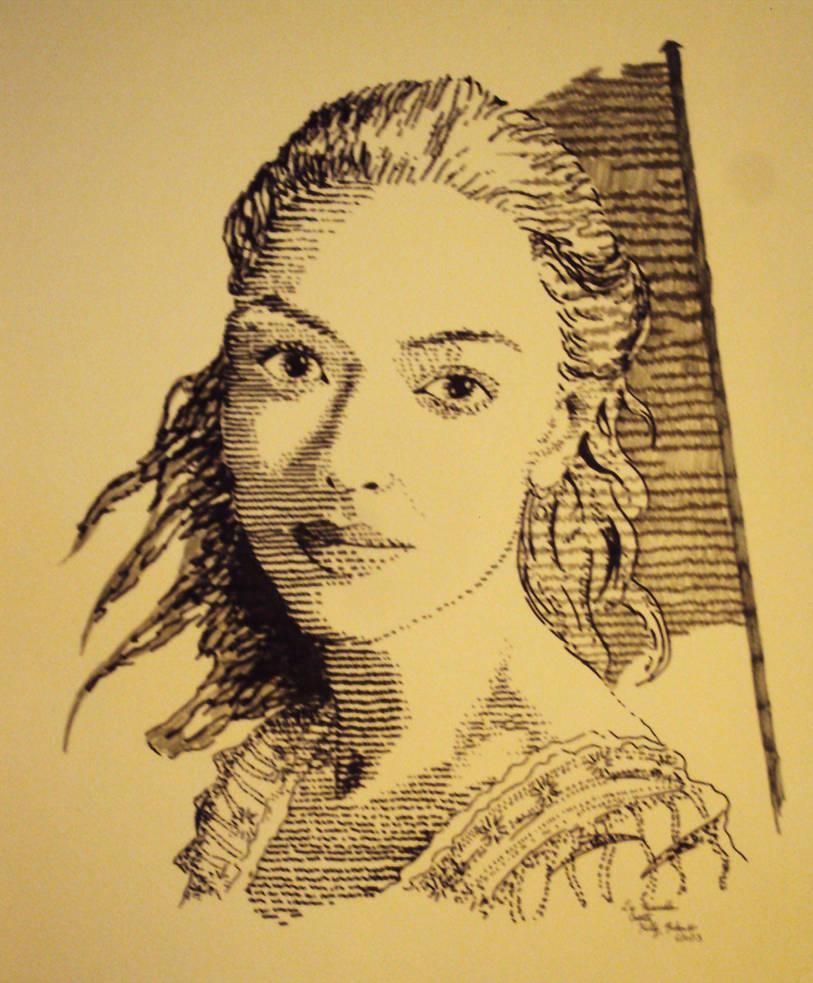Les Miserables Logo -- Cosette by Moundfreek