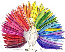 Turkey Rainbow by Moundfreek