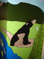Mural: Bears by Moundfreek