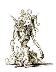 Cthulhu Concept art by D-Cranford