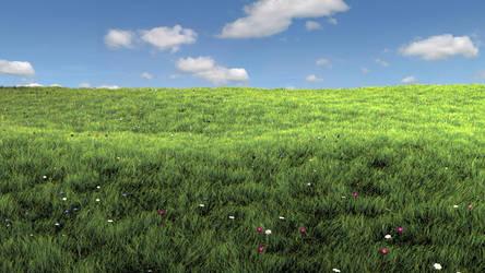 3d Meadow by l1l1Rayl1l1