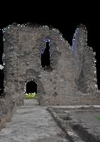 Old Priory Ruins 01 PNG.. by AledJonesDigitalArt