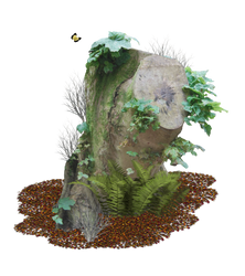Tree Stump PNG.. by AledJonesDigitalArt