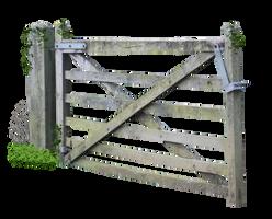 Wooden Farm Gate PNG.. by AledJonesDigitalArt