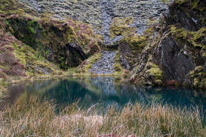 Abandoned Quarry Stock 01.. by AledJonesDigitalArt
