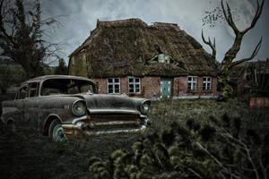 Abandoned.. by AledJonesDigitalArt