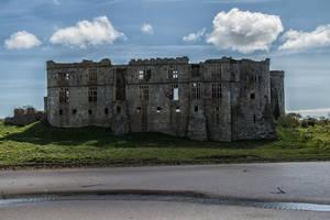 Castle Ruins Stock May 2016.. by AledJonesDigitalArt