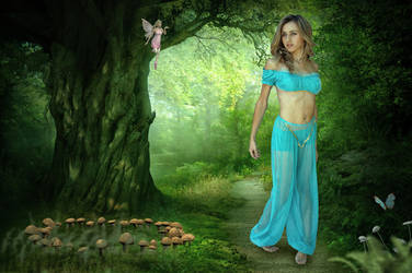 Enchanted Woods.. by AledJonesDigitalArt