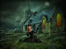 The Darkside.. by AledJonesDigitalArt