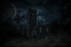 Graveyard shift.. by AledJonesDigitalArt