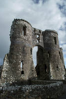 Castle Ruins stock 01 October 2016.. by AledJonesDigitalArt
