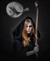 The Dark Witch.. by AledJonesDigitalArt