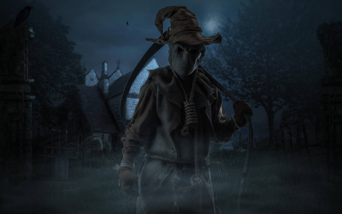 The Scarecrow.. by AledJonesDigitalArt
