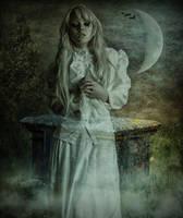 White spirit by AledJonesDigitalArt