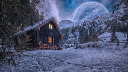 Dreamscape 15.. by AledJonesDigitalArt