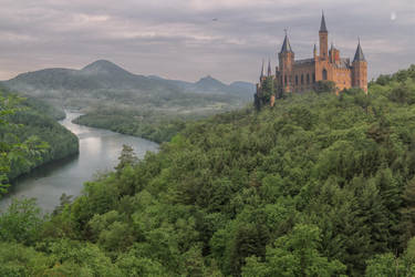 Castle In The Forest.. by AledJonesDigitalArt