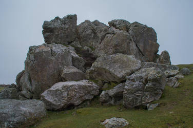 Plumstone Rocks Stock 04 April 2017.. by AledJonesDigitalArt