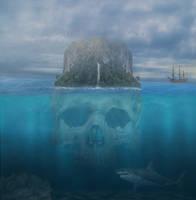 Skull Island.. by AledJonesDigitalArt