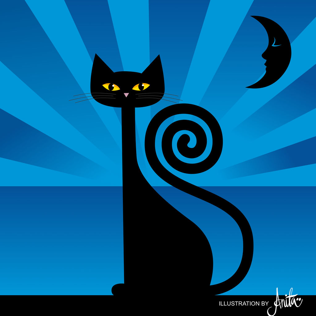 black cat by Kalliope69