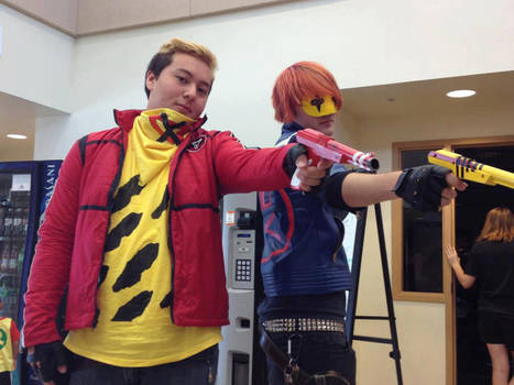 Party Poison And Kobra Kid Cosplay By Skatarded On Deviantart