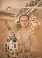 Rey (Star Wars The Force Awakens) by korehisa