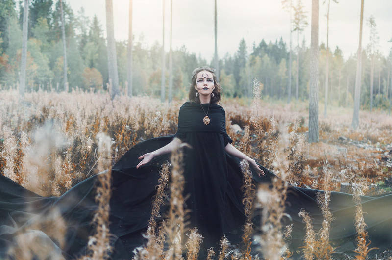 The Black Witch by AmaranthusCaudatus
